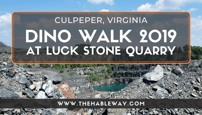 Museum of Culpeper History Dino Walk 2019 in Virginia