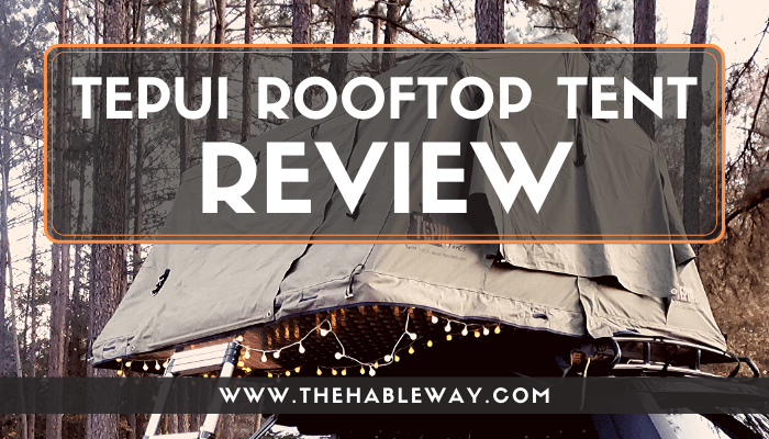 Real Life Review of the Tepui Rooftop Tent